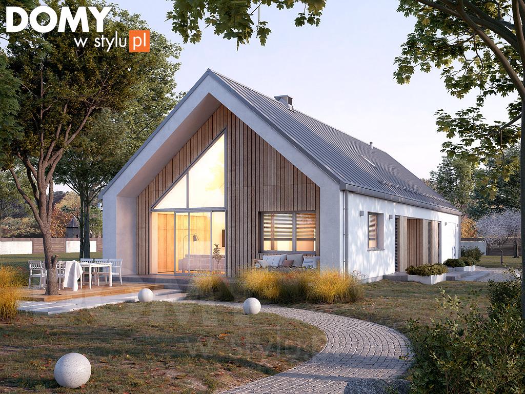 Projekty domów do 100m - mały domek dla rodziny