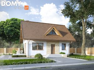 Projekt małego domu, który spełni oczekiwania rodziny