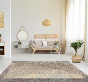 dywan beżowy do salonu